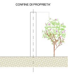muro albero