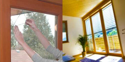 applicare pellicola sui vetri per isolare temicamente