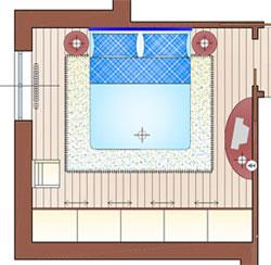 Camera Matrimoniale 14 Mq.Arredare Una Camera Matrimoniale Di 14 Mq La Casa Giusta
