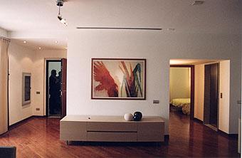 ingresso casa domotica