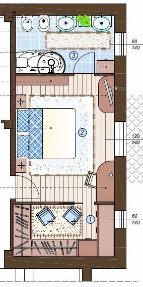 Camera Con Cabina Armadio E Bagno.Camera Con Bagno E Cabina Armadio Tutto In 28 Mq La Casa Giusta