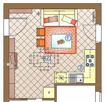 mini cucina appartamento